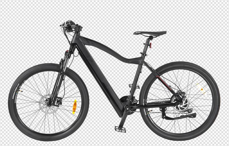 Fahrrad Freisteller auf transparentem Hintergrund